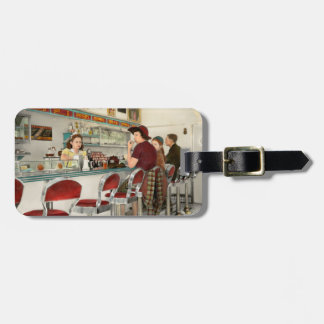Cafe - The local hangout 1941 Luggage Tag