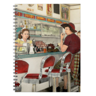 Cafe - The local hangout 1941 Notebook