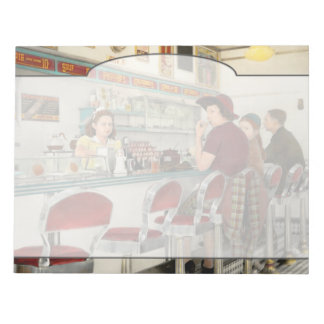Cafe - The local hangout 1941 Notepad