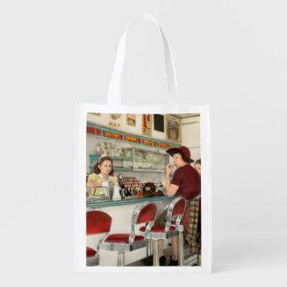 Cafe - The local hangout 1941 Reusable Grocery Bag