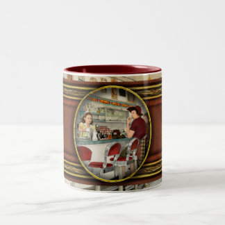 Cafe - The local hangout 1941 Two-Tone Coffee Mug