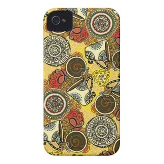 Cafe Time iPhone 4 Case-Mate Cases