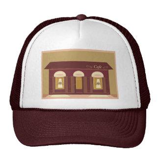 cafe trucker hat
