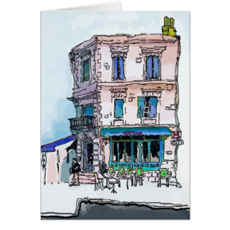 CAfe Tulip, New Orleans, Marigny Card