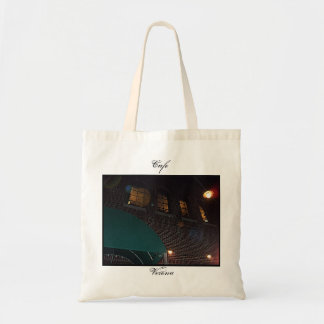 Cafe Verona on Independence Square, Indep. Mo. Tote Bags