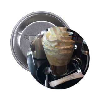 Cafe Viennois - Lots of Whipped Cream | Paris 2 Inch Round Button