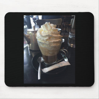 Cafe Viennois - Lots of Whipped Cream   Paris Mouse Pad