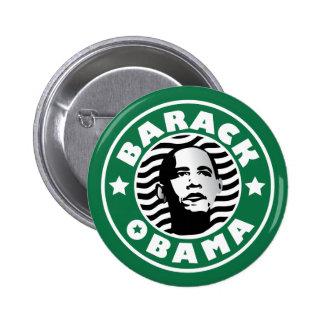 Caféine d étoile de Barack Obama Pin's