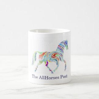 cafepresslogo, The AllHorses Post Coffee Mug
