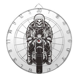 Caferacer Until Die Dartboard