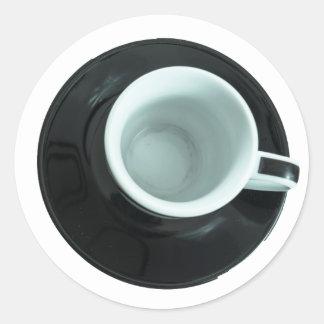 caffè classic round sticker