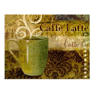 Caffe Latte Postcard