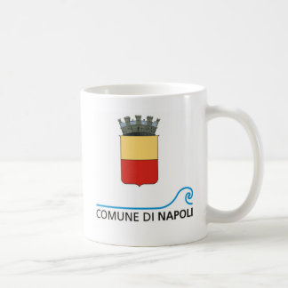 Caffe Napoli Classic White Coffee Mug