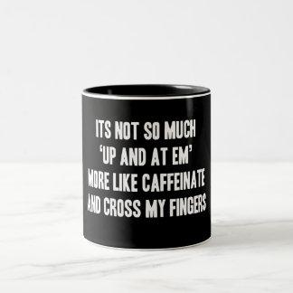 Caffeinate Funny Mug