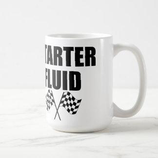 Caffeinated Starter Fluid Classic White Coffee Mug