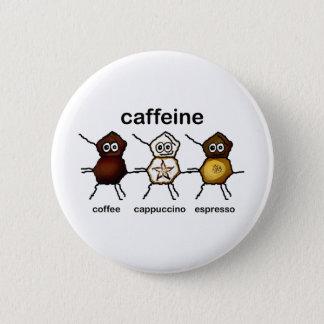 Caffeine 2 Inch Round Button
