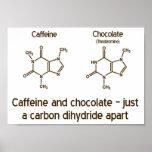 Caffeine and Chocolate Poster