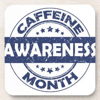 Caffeine Awareness Month - Appreciation Day Coaster