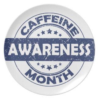 Caffeine Awareness Month - Appreciation Day Plate