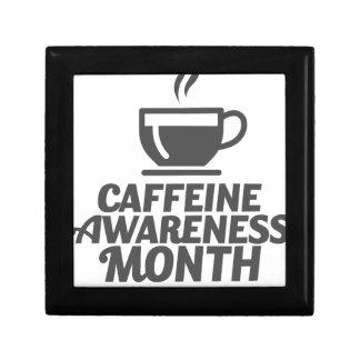 Caffeine Awareness Month March - Appreciation Day Gift Box