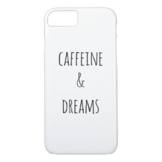 Caffeine & Dreams Barely There iPhone 8/7 Case