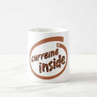 Caffeine Inside Coffee Mug