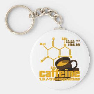 Caffeine Keychain
