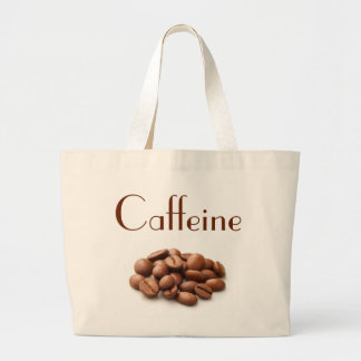 Caffeine. Large Tote Bag