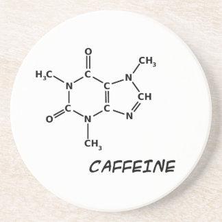 Caffeine Molecule Coaster