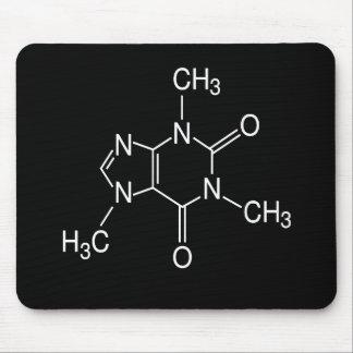 caffeine molecule mouse pad