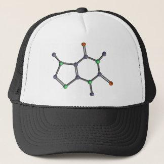 Caffeine molecule trucker hat