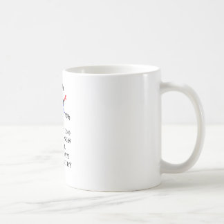 Caffeine Morning White jGibney The MUSEUM Zazzle Coffee Mug