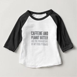 Caffeine & Peanut Butter Baby T-Shirt