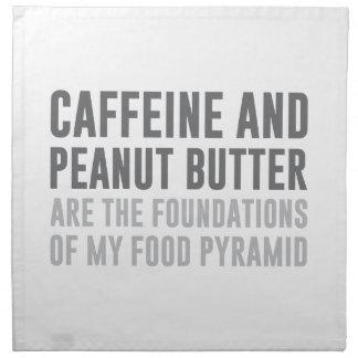 Caffeine & Peanut Butter Cloth Napkin