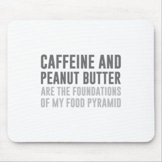 Caffeine & Peanut Butter Mouse Pad