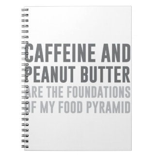 Caffeine & Peanut Butter Notebook