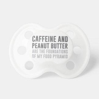 Caffeine & Peanut Butter Pacifiers