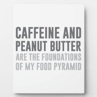 Caffeine & Peanut Butter Plaque