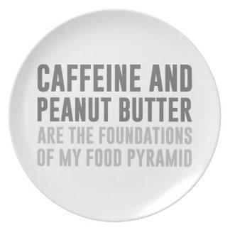 Caffeine & Peanut Butter Plate