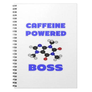 Caffeine Powered Boss Notebook