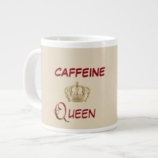 Caffeine Queen Large Coffee Mug