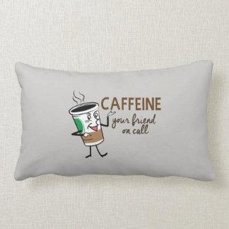 Caffeine, Your Friend on Call Lumbar Pillow