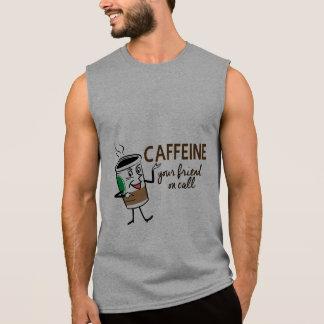 Caffeine, Your Friend on Call Sleeveless Shirt