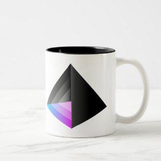 Caffeinium Two-Tone Coffee Mug