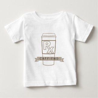 Caffiend Baby T-Shirt