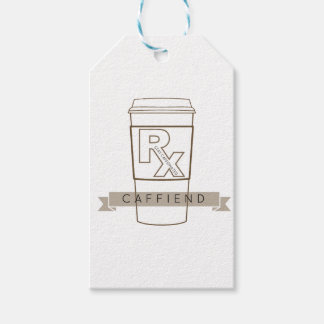Caffiend Gift Tags