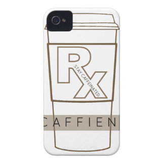 Caffiend iPhone 4 Case-Mate Cases