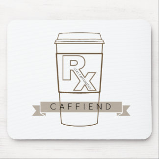 Caffiend Mouse Pad