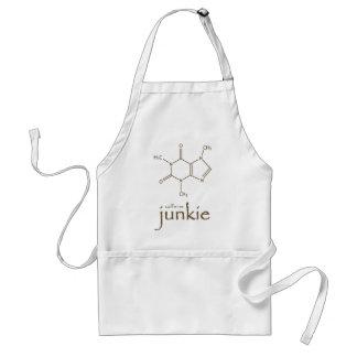 caffine junkie PNG Standard Apron