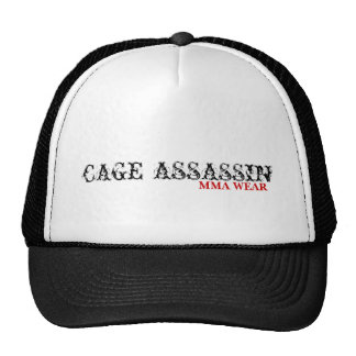 CAGE ASSASSIN, MMA WEAR TRUCKER HAT